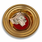 Offering Plate — Stock Photo