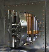 Vintage Safes — Stock Photo