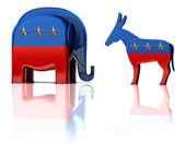 Mascotte del partito — Foto Stock