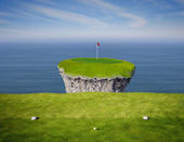 Hole in One — Stock Photo