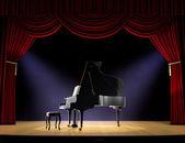 Piano Concert — Stock Photo