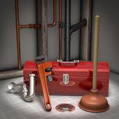 Plumbing — Stock Photo