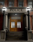 Police Station — Stock Photo