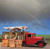 Produce Truck — Stock Photo