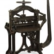Vintage Printing Press - Stock Photo