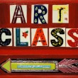 Art class — Stock Photo
