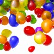 Falling Balloons - Stockfoto