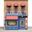 Barber Shop - Stock Photo