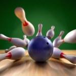 Bowling Strike — Stock Photo #13482443