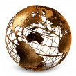 Caged Globe — Stock Photo