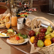 Breakfast buffet - Stock Photo