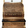 Old fashioned cash register orthographic - Stock Photo