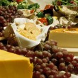 Cheese and grapes — Stock Photo #13483291