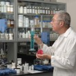 Chemist in Lab — Stock Photo