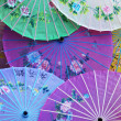 Chinese parasols — Stock Photo