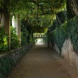 Gardens of Hotel Villa Cimbrone — Stock Photo