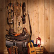 Cowboy Still LIfe - Stock Photo