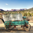 Conestoga wagon - Stock Photo