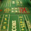 Craps table - Stock Photo