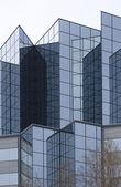 Angular glass exterior — Stock Photo