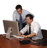 Associates at Work — Stock Photo