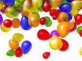 Falling Balloons — Stock Photo