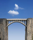 Bridge and Sky — Stock Photo