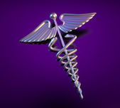 Caduceus — Stock Photo