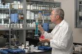 Chemist in Lab — Stock Photo