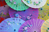 Chinese parasols — Stock Photo