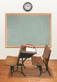 Retro Classroom — Zdjęcie stockowe