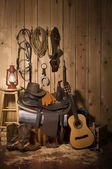 Cowboy Still life — Stock Photo