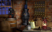 Coffee Factory — Stock Photo