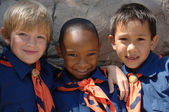 Cub Scouts — Stock Photo