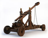 Norman Catapult — Stock Photo