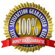 Satisfaction Guaranteed Seal — Foto de Stock