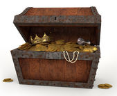 Pirates Chest — Stock Photo