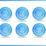 Media icons — Stock Vector #12553910