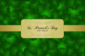 St. Patrick Day background — Stock Photo
