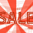 Sale background — Stockvector #23221782