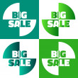 Big sale vector background — Foto Stock