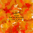 Autumn colors abstract vector background — Grafika wektorowa