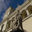 St. Petersburg, Protestant Evangelical Church — Stok video