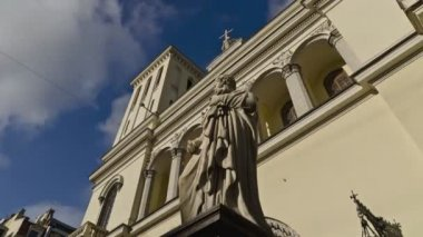St. Petersburg, Protestant Evangelical Church — Stock Video