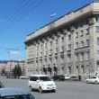 Novosibirsk, Russia, The building of City Hall — Stock Video