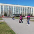 Novosibirsk, Russia, The Public Scientific and Technical Library — Stock Video