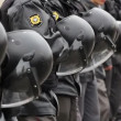 Riot Police with Helmets, Russia — Stock Video