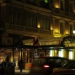 Stock Video: St. Petersburg, Grand Hotel Europe at night