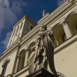 Stock Video: (zoom-in) St. Petersburg, Protestant Evangelical Church