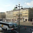 Nevsky Street near the Gostiny Dvor, St. Petersburg, Russia - Stock Photo